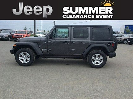 2018 Jeep Wrangler 4WD Unlimited Sport for sale 100999432