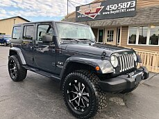 2018 Jeep Wrangler JK 4WD Unlimited Sahara for sale 101027587