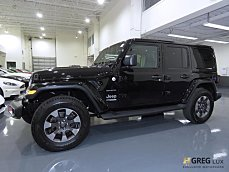 2018 Jeep Wrangler 4WD Unlimited Sahara for sale 101052323