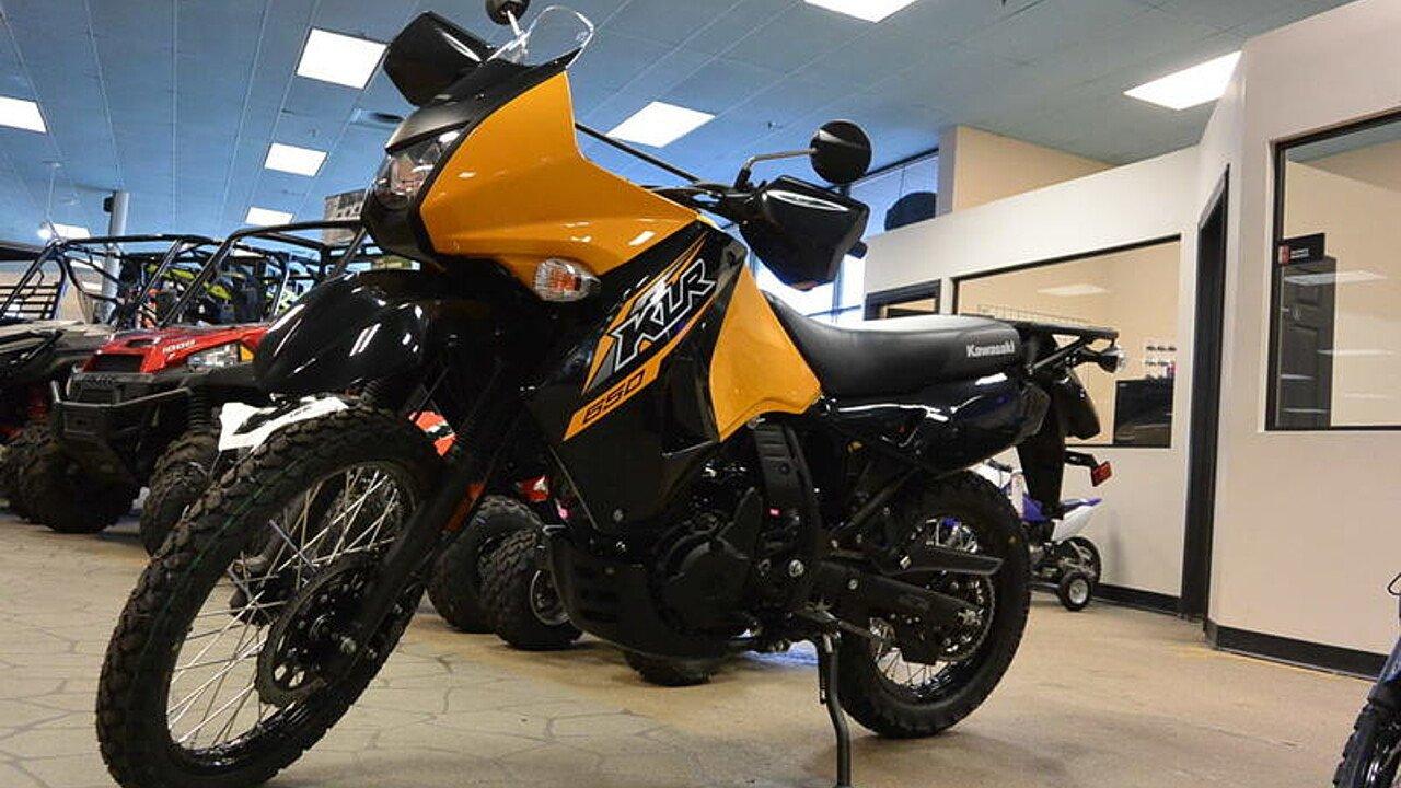 2018 Kawasaki KLR650 for sale 200522710