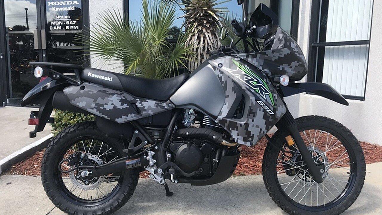 2018 Kawasaki KLR650 for sale 200571220