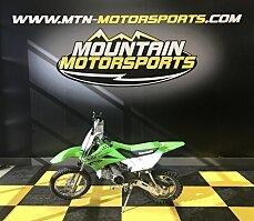 2018 Kawasaki KLX110 for sale 200537818