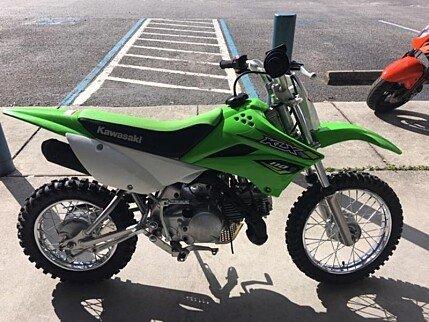 2018 Kawasaki KLX110 for sale 200642281