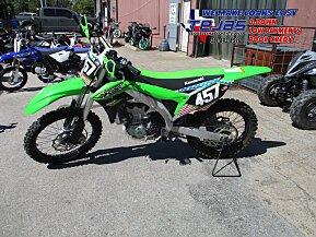 2018 Kawasaki KX450F for sale 200638860
