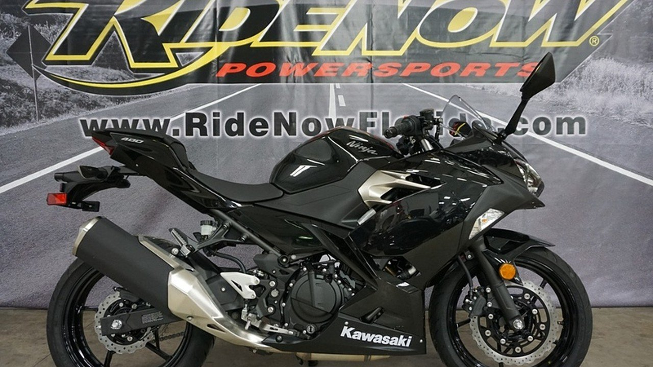 2018 Kawasaki Ninja 400 for sale 200570486