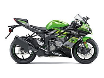 2018 Kawasaki Ninja ZX-6R ABS for sale 200504860