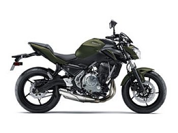 2018 Kawasaki Z650 ABS for sale 200550366