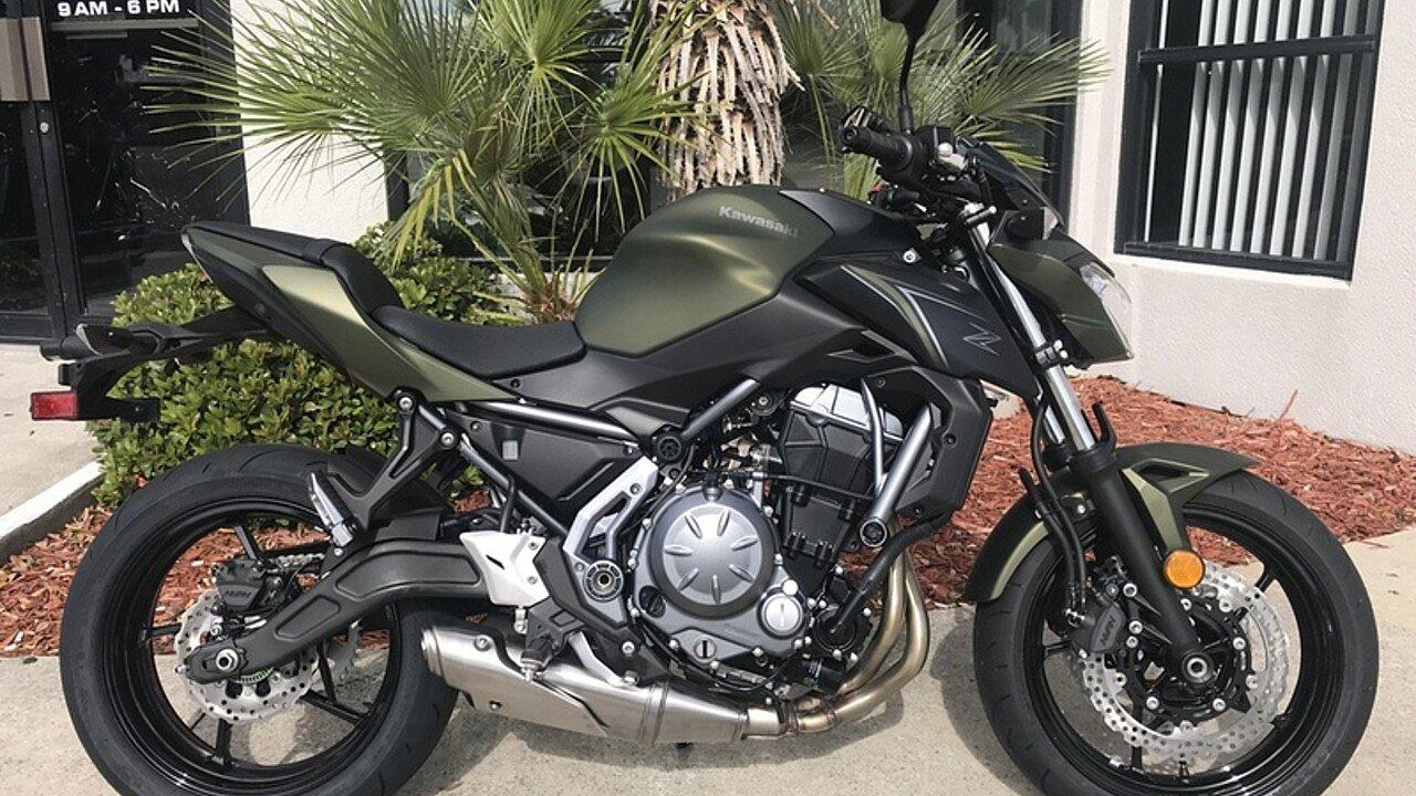 2018 Kawasaki Z650 for sale 200571054
