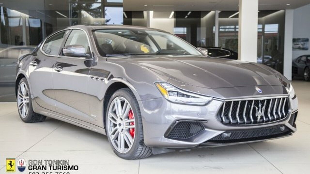 2018 Maserati Ghibli for sale 100996081