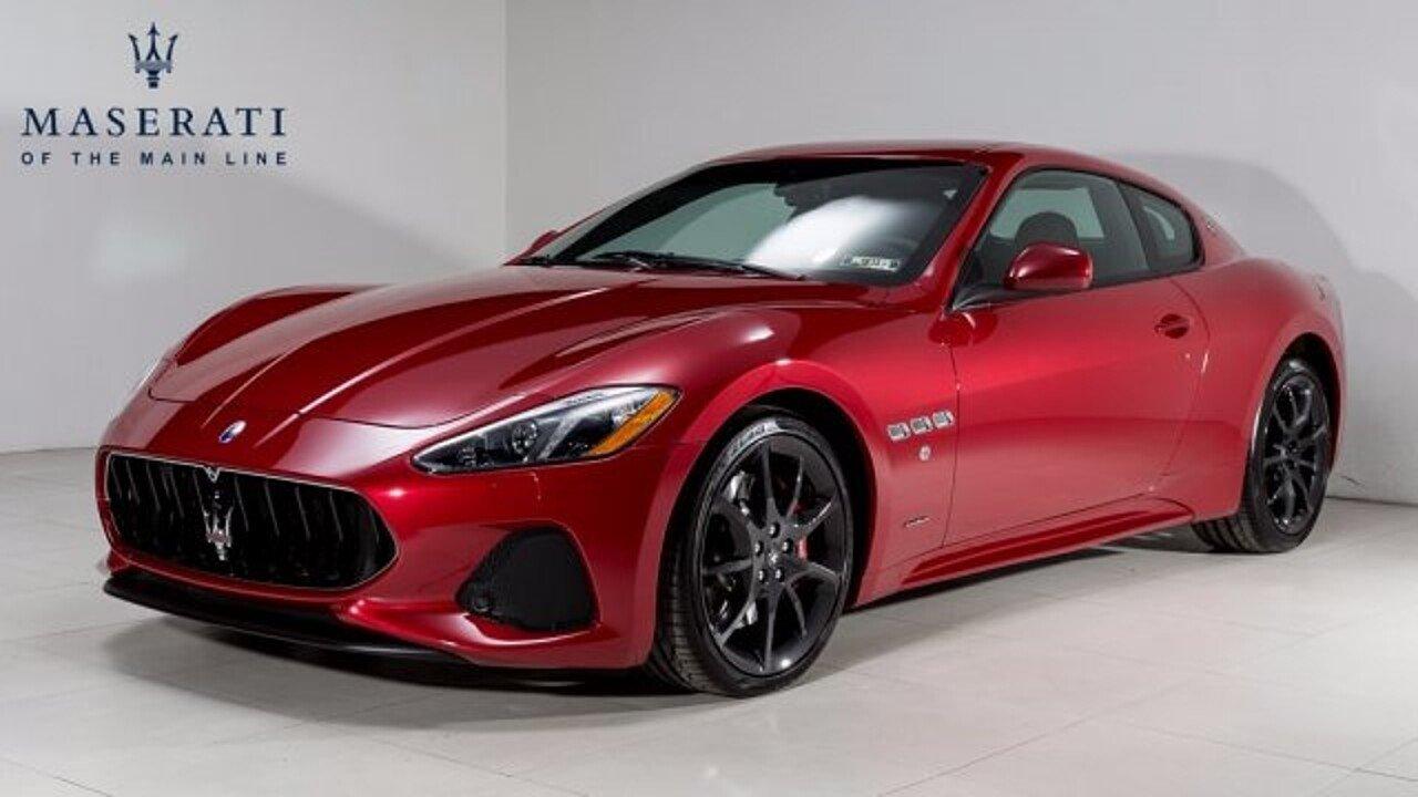 2018 Maserati GranTurismo for sale 100923699