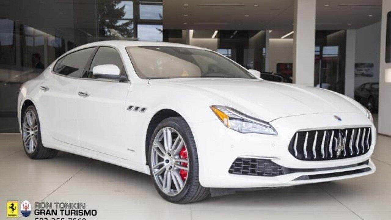 2018 Maserati Quattroporte for sale 100996084