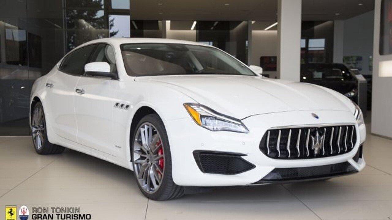 2018 Maserati Quattroporte for sale 100996093