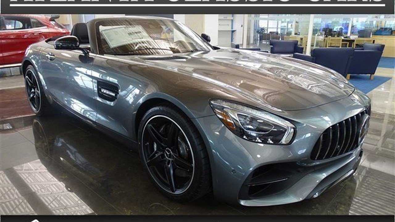 2018 Mercedes-Benz AMG GT Roadster for sale 100970028