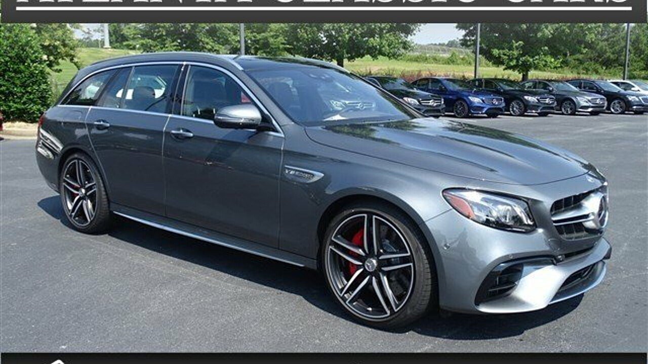 2018 Mercedes-Benz E63 AMG S 4MATIC Wagon for sale 100992307