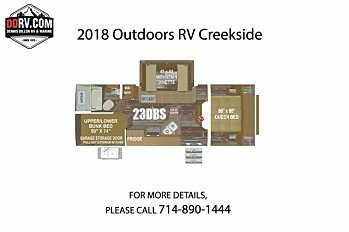 2018 Outdoors RV Creekside for sale 300148779
