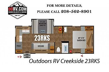 2018 Outdoors RV Creekside for sale 300148827