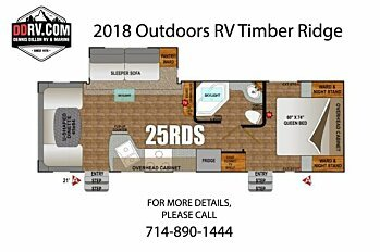 2018 Outdoors RV Timber Ridge for sale 300148783