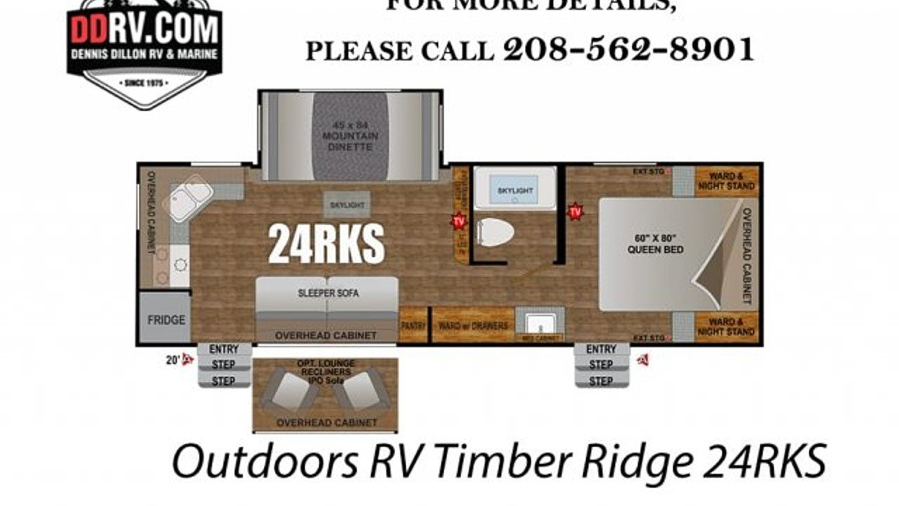 2018 Outdoors RV Timber Ridge for sale 300148828