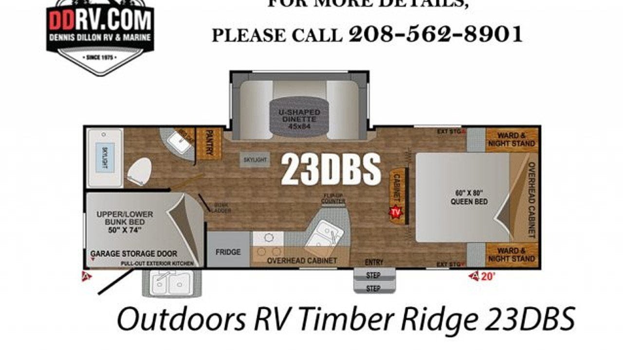 2018 Outdoors RV Timber Ridge for sale 300148829
