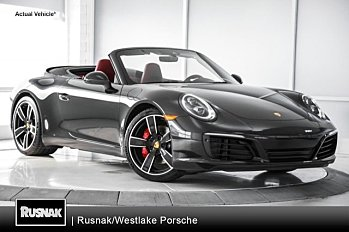 2018 Porsche 911 Cabriolet for sale 100930222