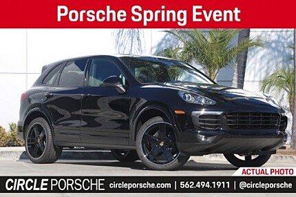 2018 Porsche Cayenne for sale 100955555