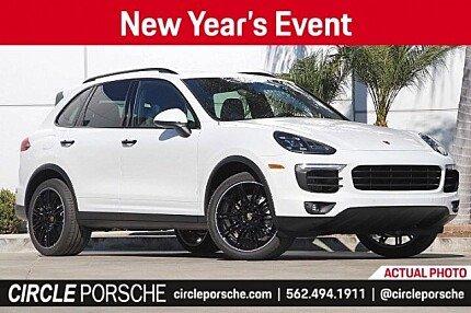 2018 Porsche Cayenne for sale 100955577