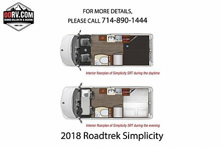 2018 Roadtrek Simplicity for sale 300164301