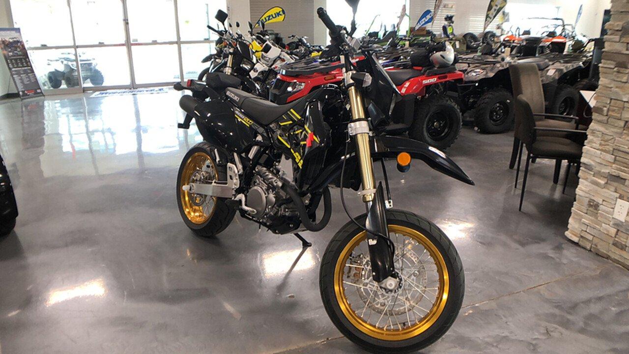 2018 Suzuki DR-Z400SM for sale 200590757