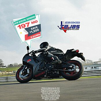 2018 Suzuki GSX-R600 for sale 200584514
