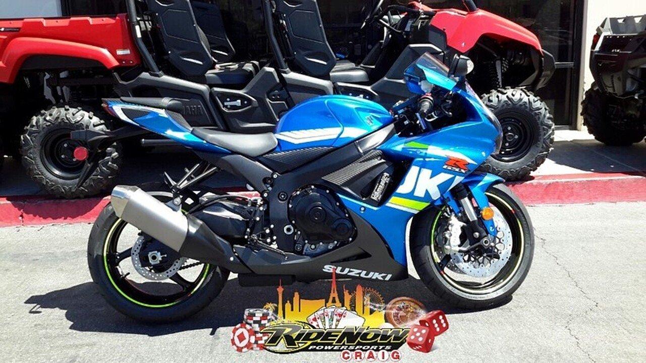 2018 Suzuki GSX-R750 for sale 200546480
