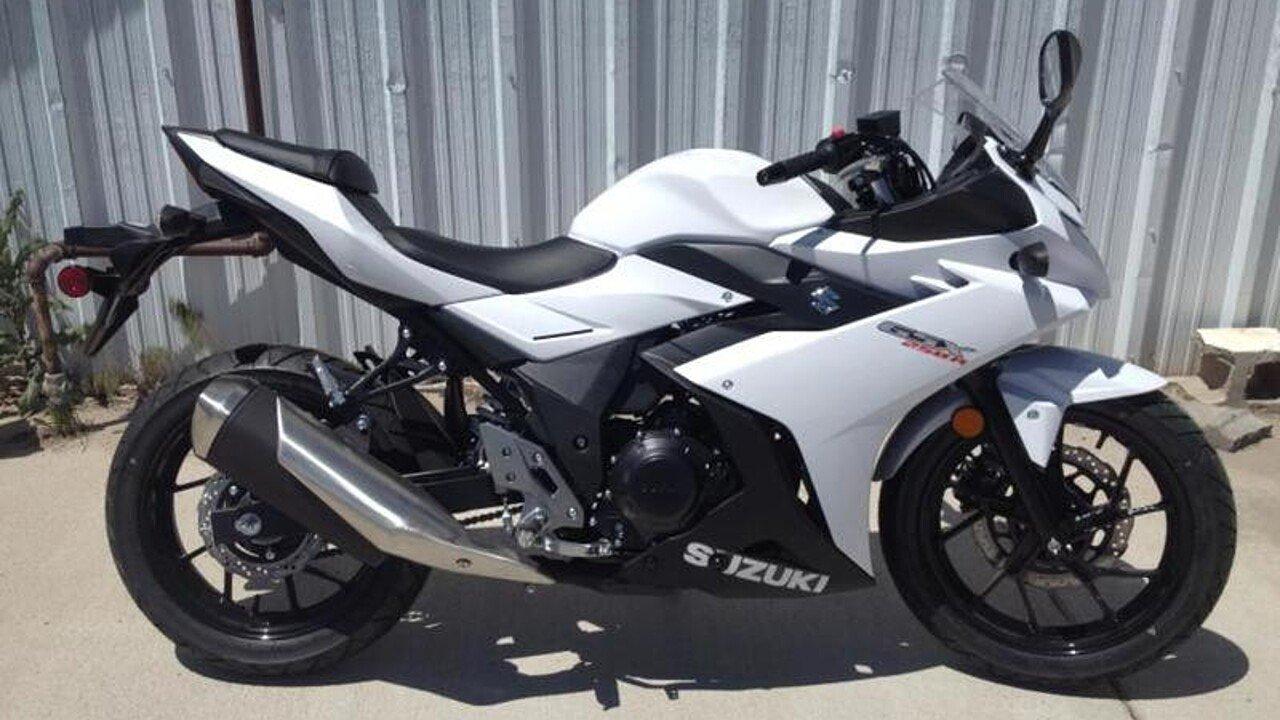 2018 Suzuki GSX250R for sale 200524176