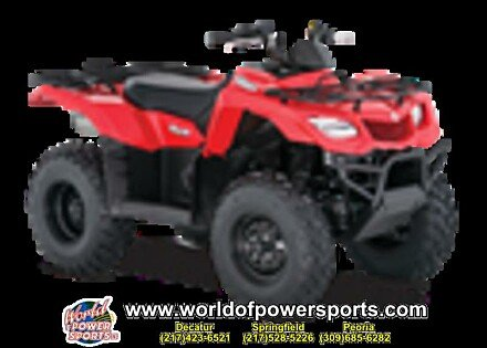 2018 Suzuki KingQuad 400 for sale 200637026