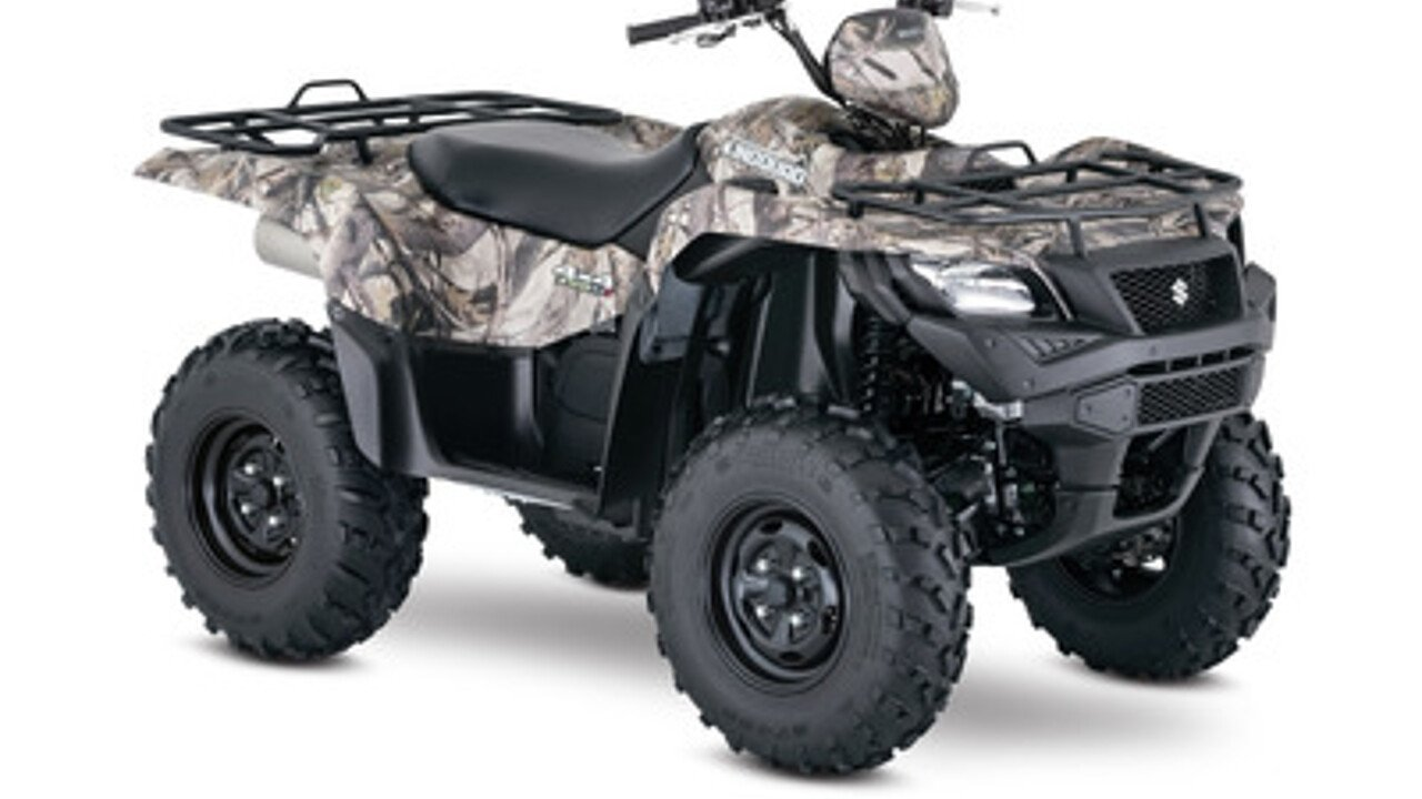 2018 Suzuki KingQuad 750 for sale 200525726