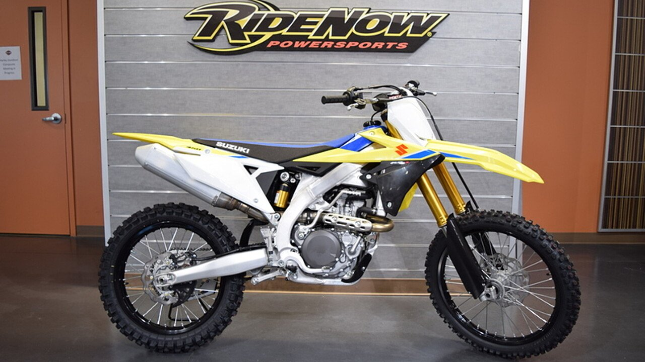 2018 Suzuki RM-Z450 for sale 200492876