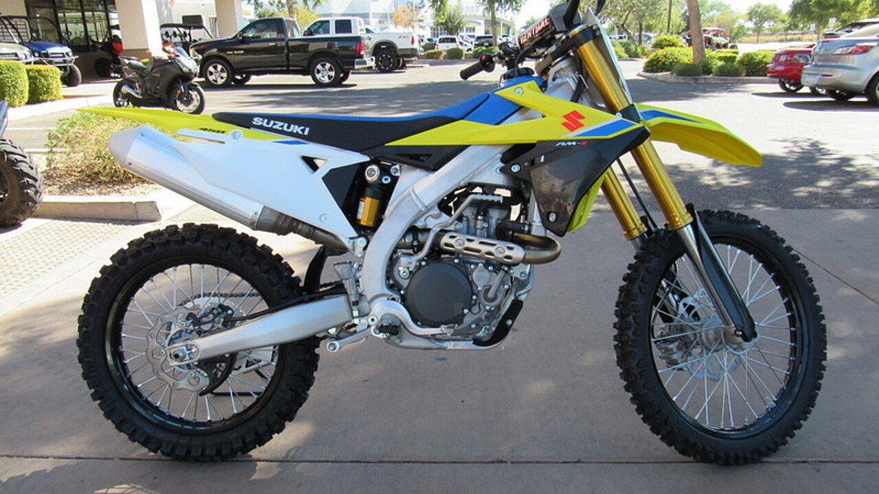 2018 Suzuki RM-Z450 for sale 200496424