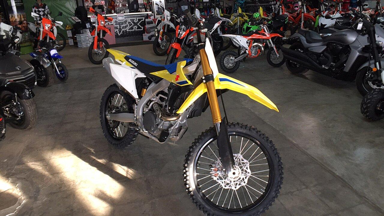2018 Suzuki RM-Z450 for sale 200515475