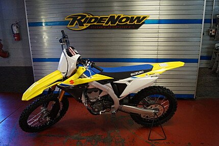 2018 Suzuki RM-Z450 for sale 200549145