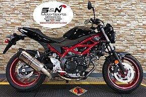 2018 Suzuki SV650 for sale 200682350