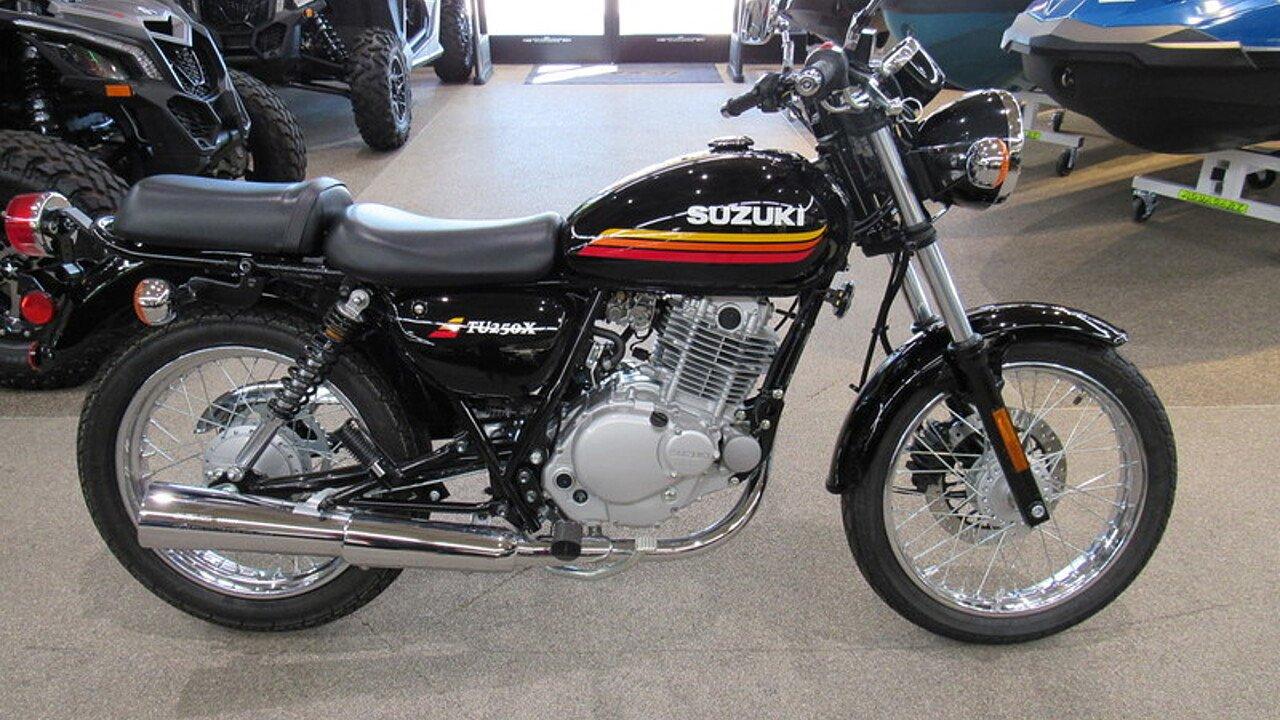 2018 Suzuki TU250X for sale 200586940