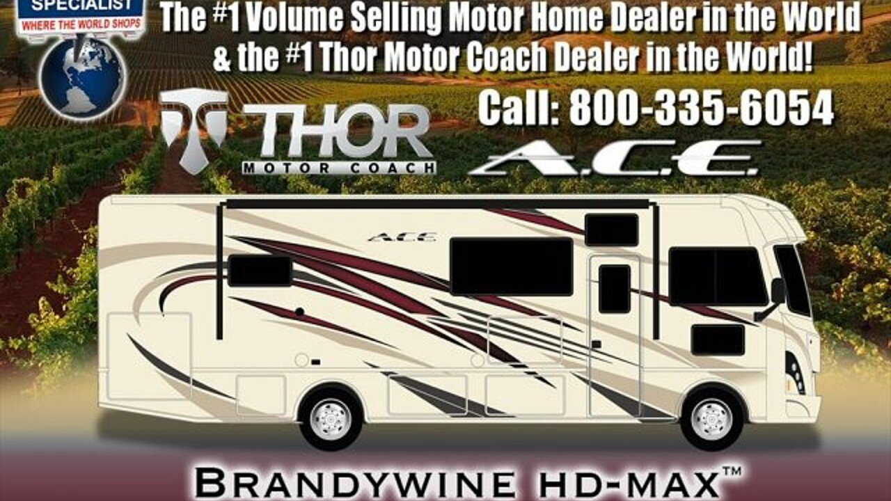 2018 Thor ACE for sale 300141208