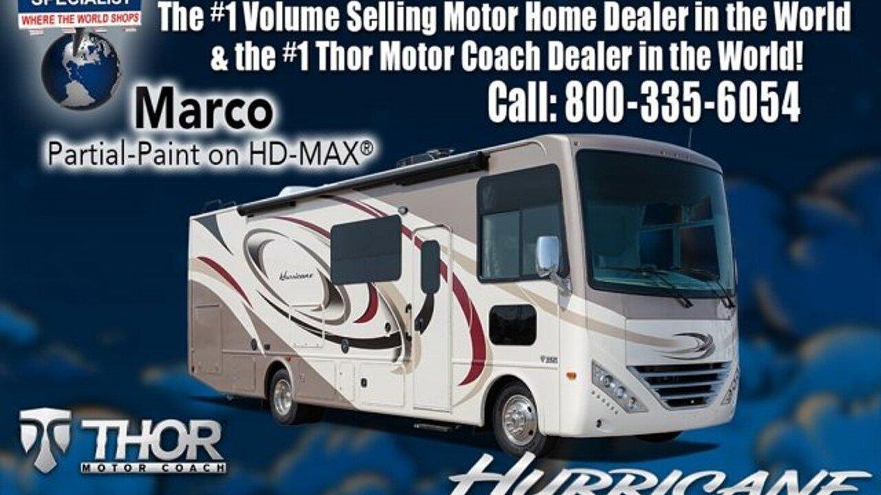 2018 Thor Hurricane for sale 300136049