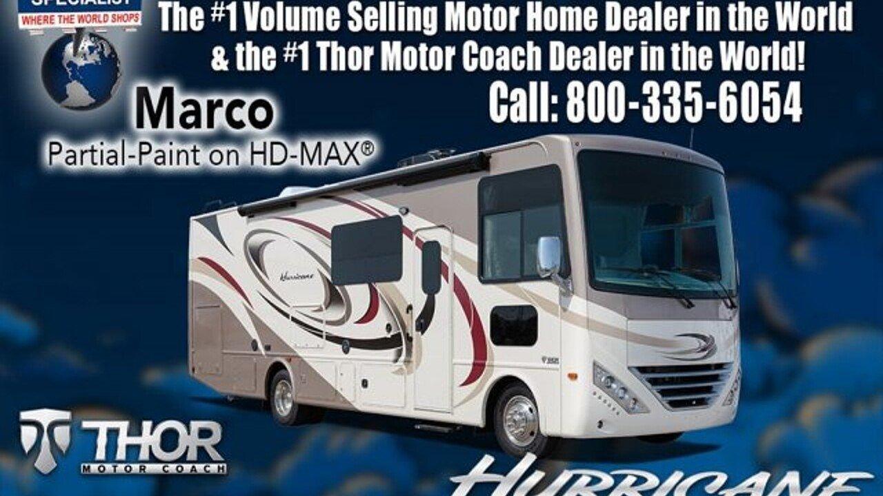 2018 Thor Hurricane for sale 300150230