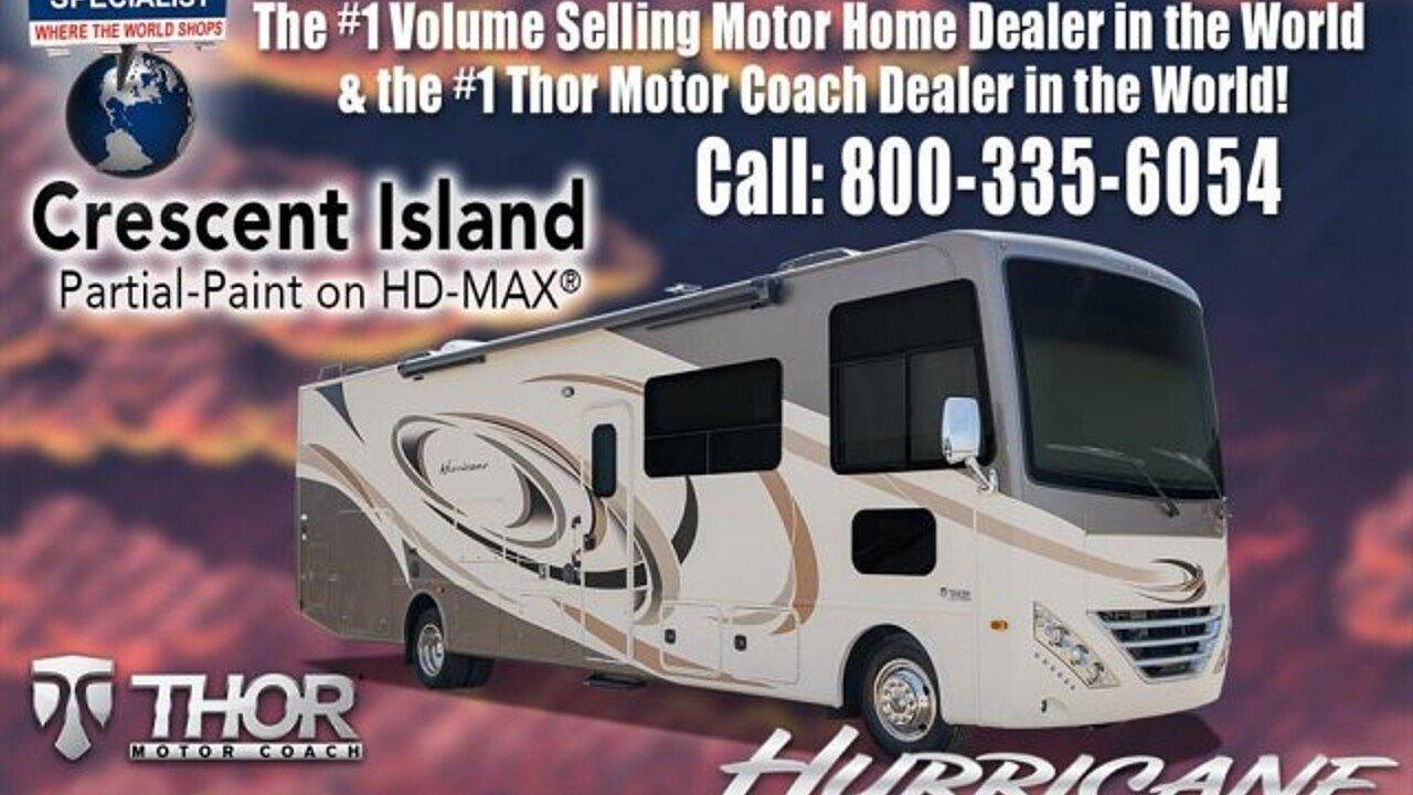 2018 Thor Hurricane for sale 300150231