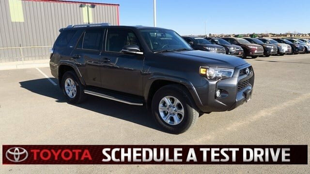 2018 Toyota 4Runner 2WD for sale 100945253