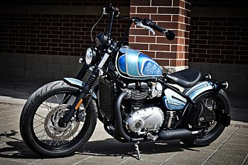 2018 Triumph Bonneville 1200 Bobber for sale 200569568