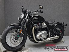 2018 Triumph Bonneville 1200 Bobber for sale 200579565