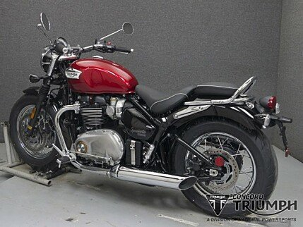 2018 Triumph Bonneville 1200 for sale 200579608