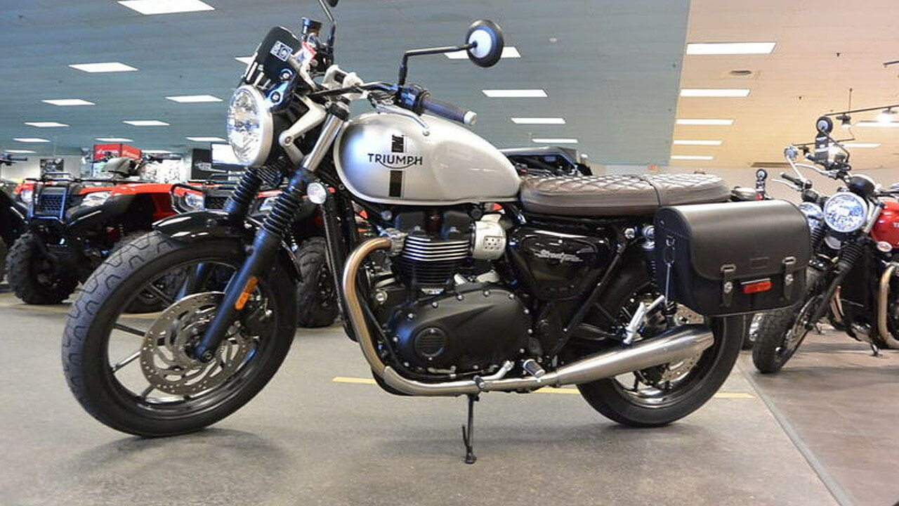 2018 triumph street twin for sale near concord north. Black Bedroom Furniture Sets. Home Design Ideas