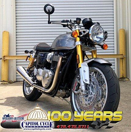 2018 Triumph Thruxton R for sale 200619146
