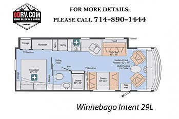 2018 Winnebago Intent for sale 300148158